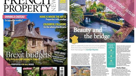 The September issue of French Property News is out now