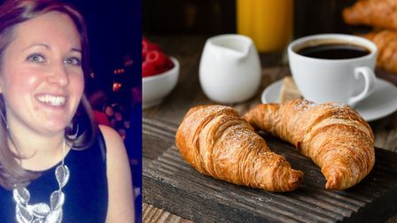 Emma Kestin's been learning to make croissants at home (©Getty)