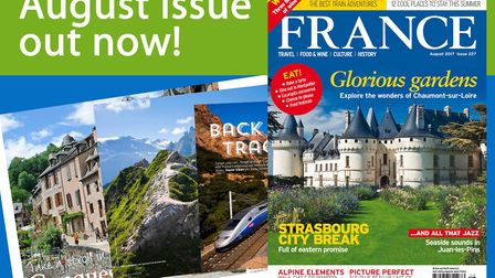 The August 2017 issue of FRANCE Magazine