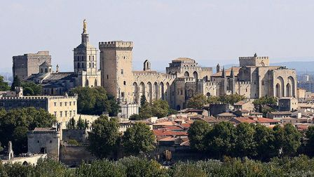 The papal city of Avignon © J M Rosier CC BY SA 3.0