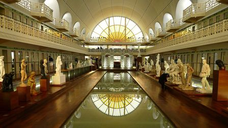 Inside the Musée La Piscine in Roubaix © Camster2 CC BY SA 3.0