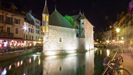 Annecy and its romantic canals
