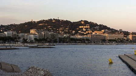 Cannes on French Riviera