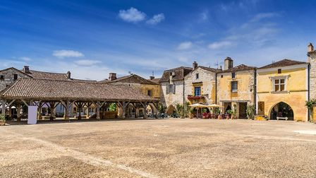 Monpazier in ever popular Dordogne (c)Gordon Bell Photography-Getty Images