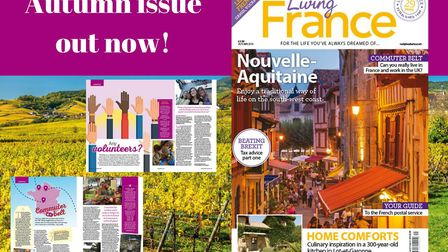 The Autumn 2018 issue of Living France magazine is on sale now