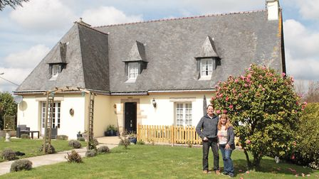 Karen and Kevin Driscoll found the perfect property to start their business in Morbihan (c) Janet My