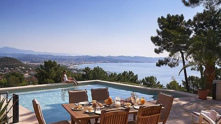 What a view! This Riviera villa is for sale at 2.49m euros