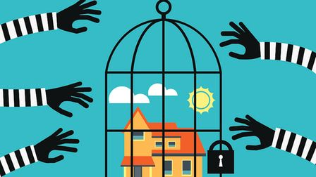 Protecting your property is easy when you know how (pic - Qvasimodo/Getty Images/Stockphoto)