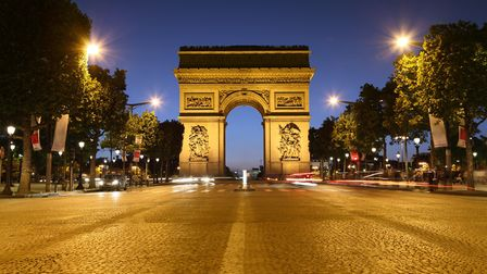 Gabriella's apartment has a small view of the Arc de Triomphe (©Brian A. Jackson -Getty Images iStoc