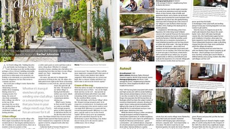 Discover hidden Paris in French Property News March issue