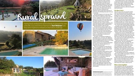 Real Life expat stories in French Property News March issue