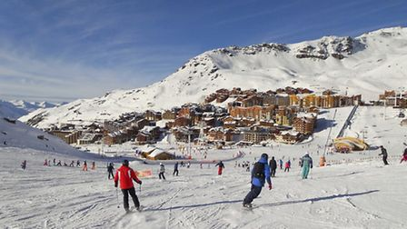 Val Thorens, the Alps, France