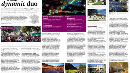 Haute-Garonne and Hérault for young people and families April 2015