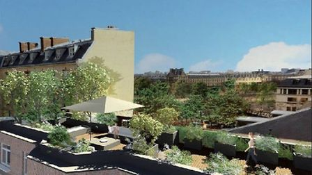Four-bedroom penthouse apartment in the 7th arrondissement, 16m euros