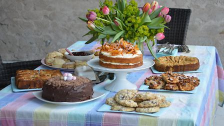 An Easter afternoon tea
