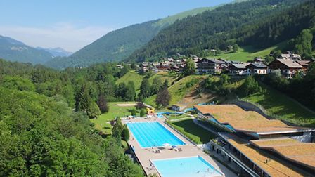 Imagine going for a swim in Morzine with those views!