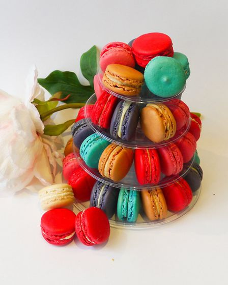 Scrumptious macarons come in all colours