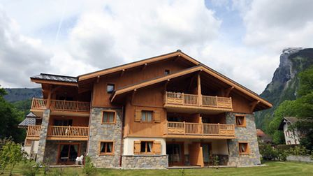 Summer in Samoëns – pictured is an earlier MGM development in the archetypal French Alpine market to
