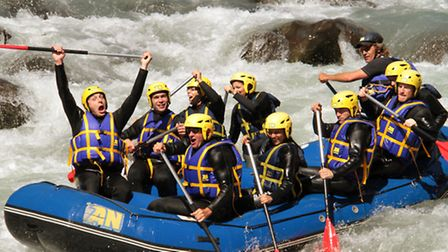 Rafting in the French Alps Credit: rafting.jpg