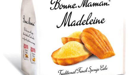 A bag of delicious Bonne Maman Madeleines