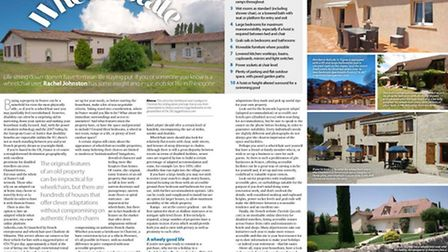 Expert Advice feature September issue