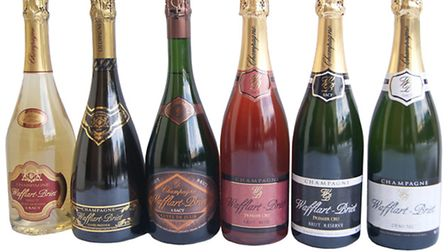 The Wafflart-Briet range of champagnes