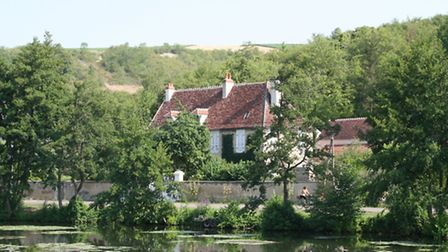 Burgundy is one of the three least populated regions of France