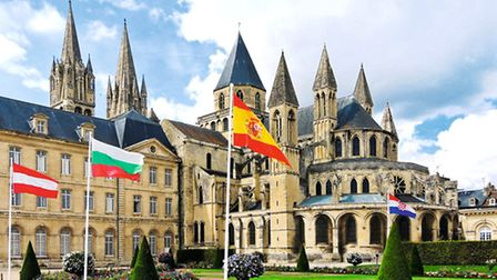 The Abbaye aux Hommes, where William the Conqueror is buried © Fotolia