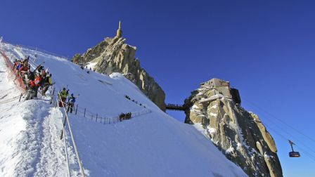 MGMs new Rsidence Le Cristal de Jade in Chamonix will be located close to the foot of the cable car