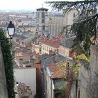 Laura's apartment in Lyon is part of a building dating back to the time of the silk industry