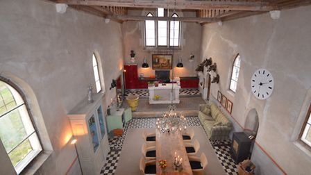 This former chapel surrounded by the Côte de Beaune vineyards is for sale for 195,000 euros (leggett