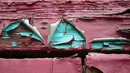 Flaking paint containing lead must be disposed of