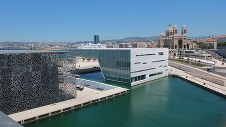 The MuCEM museum designed by architect Rudy Ricciotti