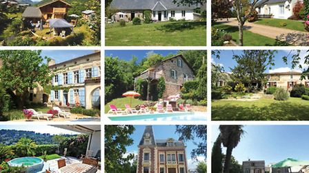 Nine stunning French proporties with gardens