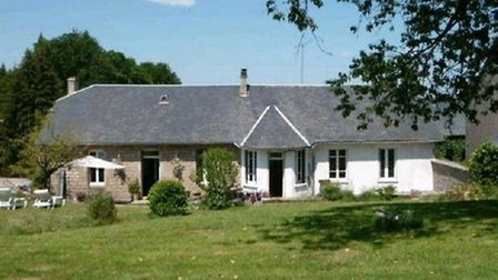A cute four-bedroom village house with a third of an acre garden