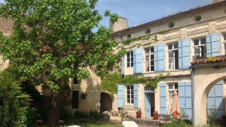 Extensive gardens, including a vegetable patch and swimming pool, come with this maison de maître