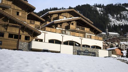 Ski apartments are for sale in this MGM development in Chatel