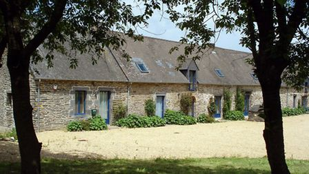 Earn: this sympathetically restored longere forms part of a gite complex in a tranquil rural setting
