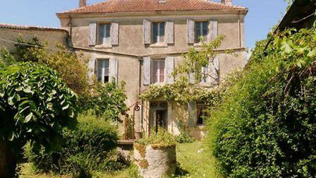 Renovate: with intact original features, outbuildings and land and just 13km from Angouleme, Charent