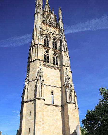 Tour Pey-Berland, belltower of the Cathédrale Saint-André stands tall in Bordeaux © Fotolia