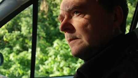Producer and actor John West starredas the landlordChristopher Meeks in the newly-released Suffolk-based horror film