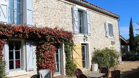 Save: In a mountain village between Bouches-du-Rhone and Var, this renovated three-bed mas blends ol