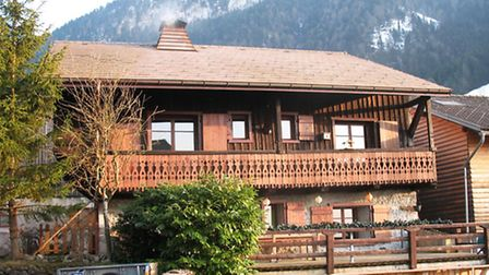 Save: Renovated in traditional Savoyard style, this chalet in La Vernaz (Haute-Savoie) is within 15