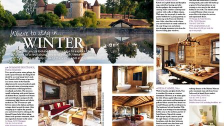 Find your own cosy winter bolthole in our accommodation feature