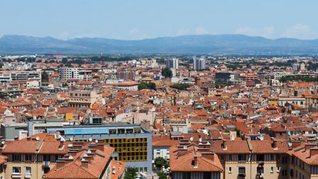 A view across the city rooftops in Perpignan © Fotolia