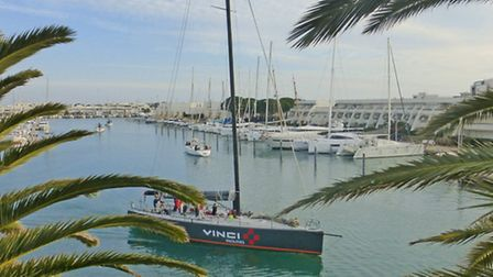 Port-Camargue, just across the water from Montpellier