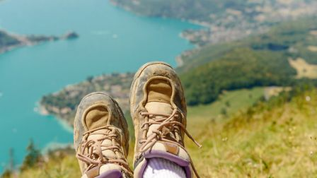 Take a hike, or a walk, in the glorious mountainous scenery around Annecy