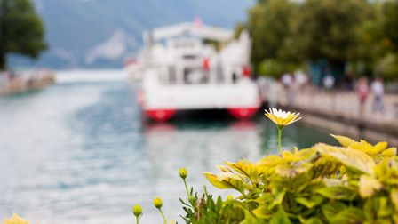 Get out on the water and take a cruise across the turquoise lake