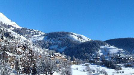 A winter view of Beuil