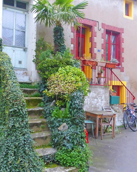 Rustic charm in Trentemoult, which lies across the river from Nantes